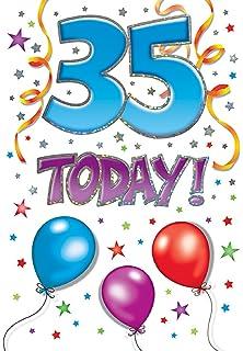 Twizler 35th Birthday Card