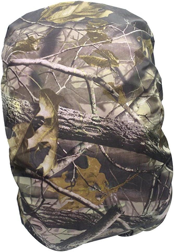 WINOMO Sac /à Dos Sac /à Dos Housse /étanche Camping Randonn/ée Sac /à Dos Pluie Leaf Camouflage