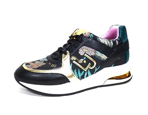 Zapatillas Liu.Jo, Modelo Running Adriana, Color Negro y Dorado, Talla 39: Amazon.es: Zapatos y complementos