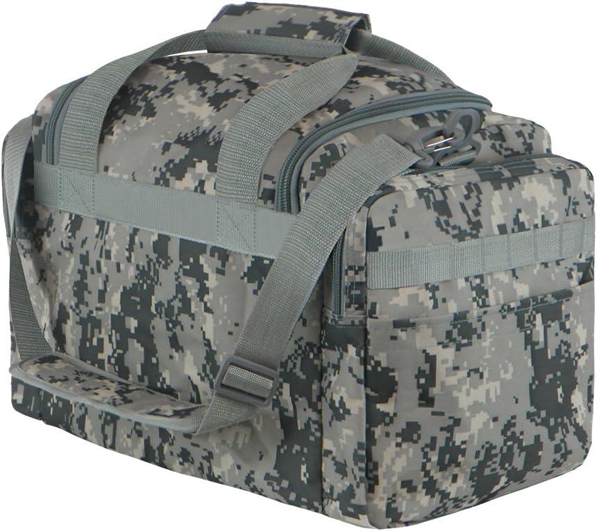 East West U.S.A RTDC703M Tactical Digital Camo Heavy Duty Round Duffel Bag