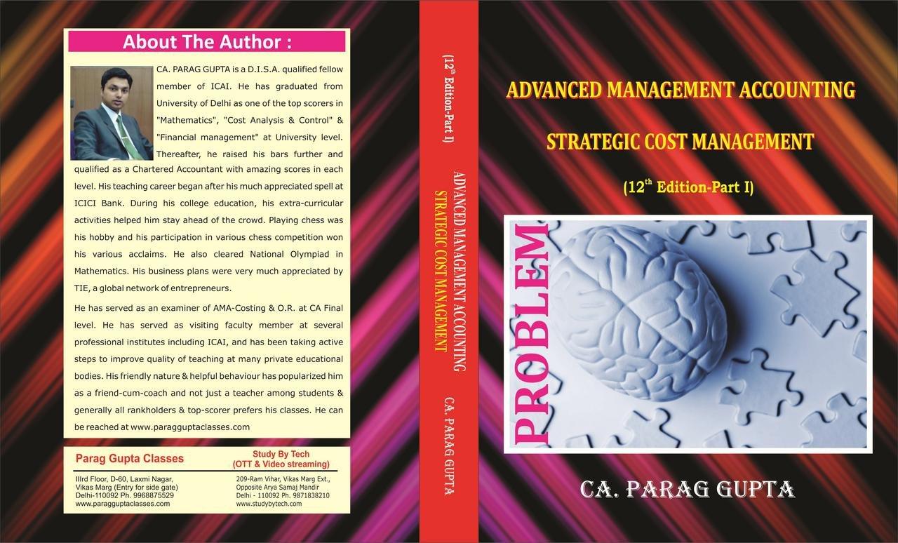 Parag Gupta Costing Book