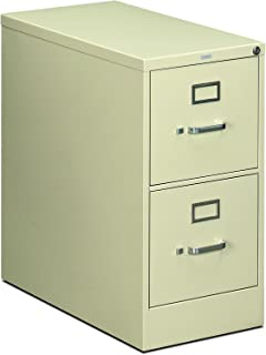 product image for HON 212PL 210 Series 28-1/2-Inch 2-Drawer Full-Suspension Letter File, Putty