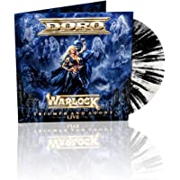 Warlock - Triumph & Agony Live Marbled Black &