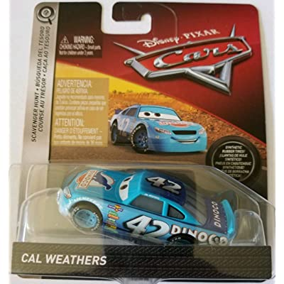 Disney Pixar Cars Die-cast Cal Weathers With PVC Tires Vehicle: Toys & Games