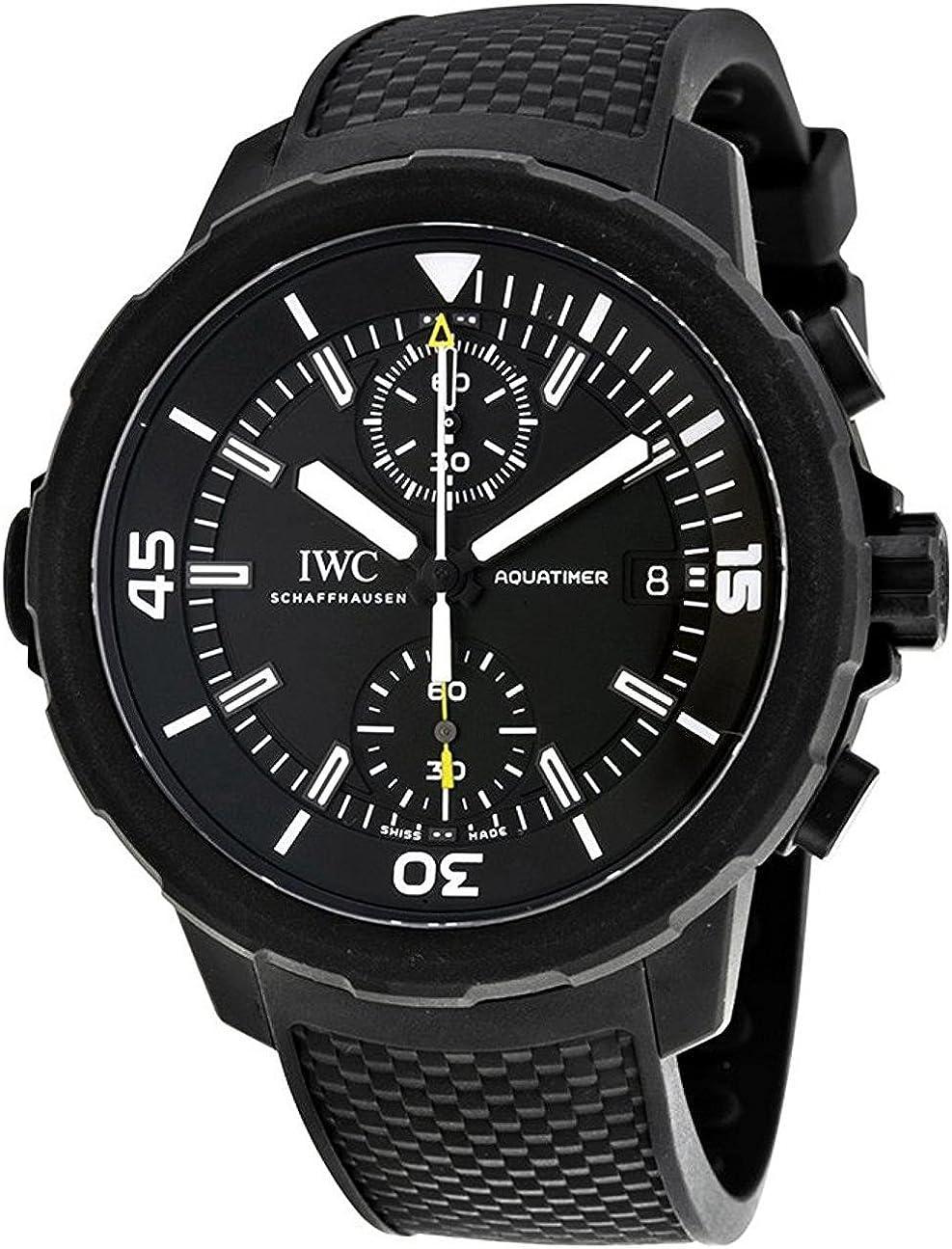 IWC Aquatimer Chronograph Galapagos Islands Mens Watch IW379502