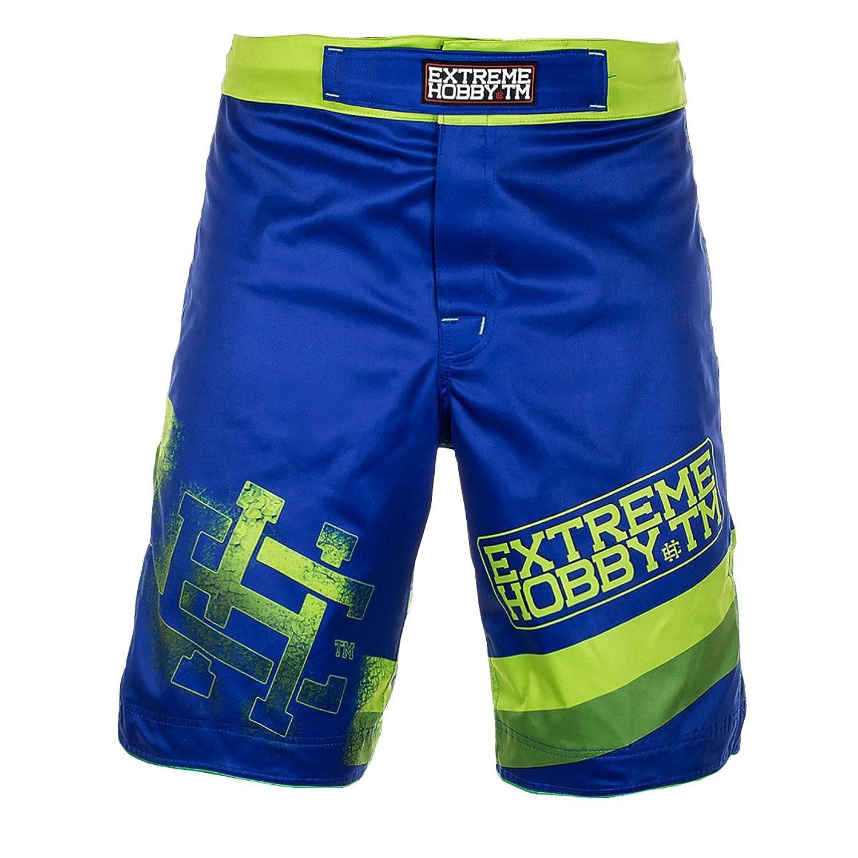 Extreme Hobby Green Crack MMA Shorts