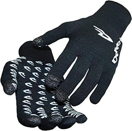 UK SELLER FINAL SALE Official IGGI Touch Screen gloves black warm and snug