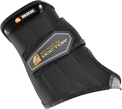 Right Shock Doctor Ultra Wrist Sleeve Wrap with Gripper Black X-Large