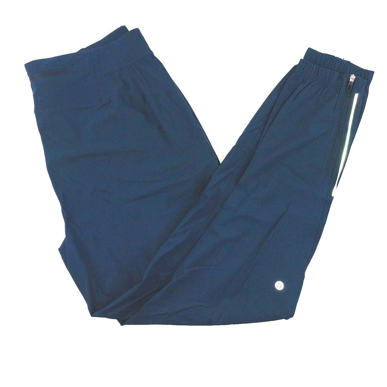 664fc7d3d9d57 Amazon.com: Lululemon Mens Poisedon Blue Lightweight Stretch Dry Fit Surge  Jogger Zip Ankle -Men Size Medium -Blue: Clothing