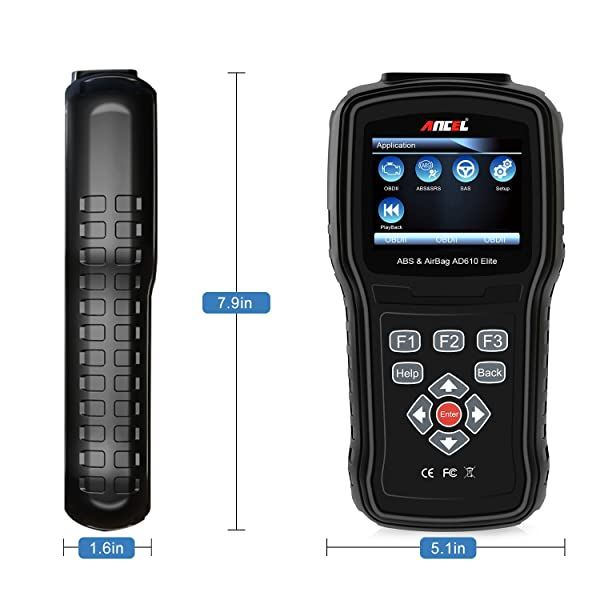 ANCEL AD610 will retrieve diagnostic trouble code depending on what is causing the ABS lights to come on.