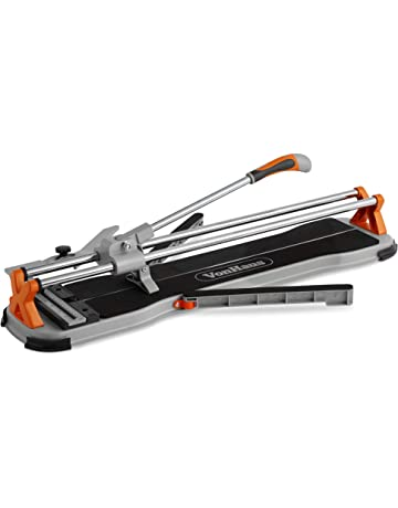 VonHaus 24 Inch Manual Tile Cutter with Tungsten Carbide Cutting Wheel, Anti-sliding Rubber