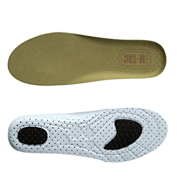4b505a1a399e9 Men's Insoles Comfort Memory Foam Replacement Inserts for Athletic Sport  Shoes or Military Work Boots...