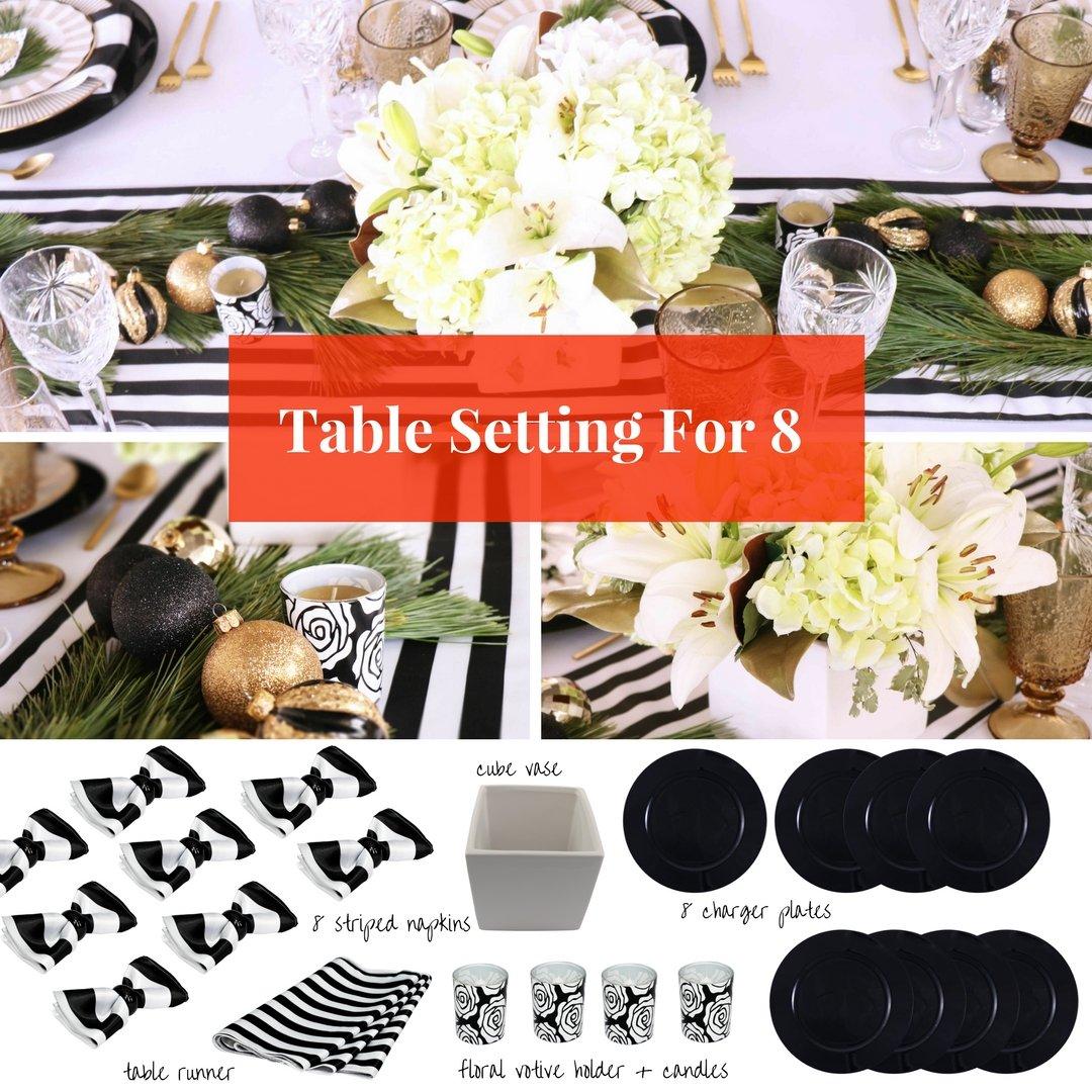 Amazon Holiday Table Setting Decor Set For Thanksgiving