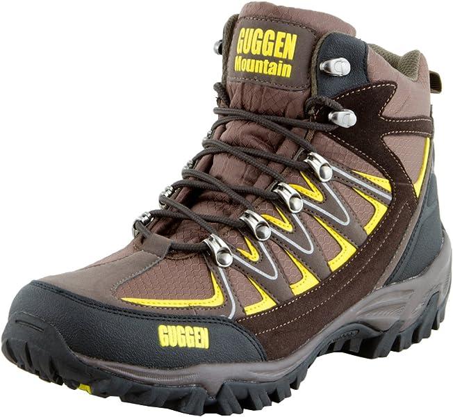 GUGGEN MOUNTAIN Zapatillas de Senderismo Zapatos Para Caminar Botas de Monta–a Zapatos de Montana Nordic Walking Unisex Hombre Mujer M009