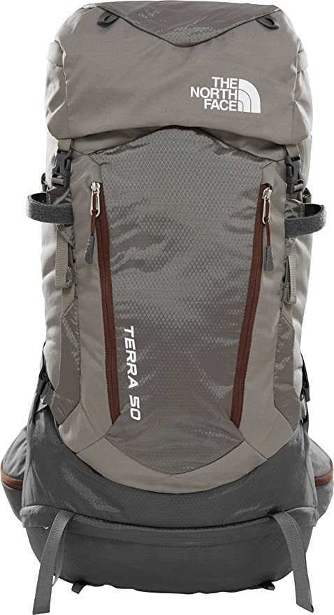 The North Face Terra 50 Zaino trekking brown red  Amazon.it  Sport e ... c236f62c3680