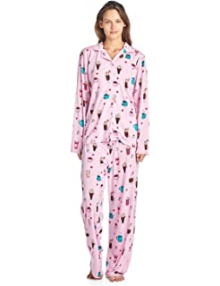 572c6a2332 BedHead Pajamas 2 PC Women s Short Sleeve Shorty Woven Pajama Set ...
