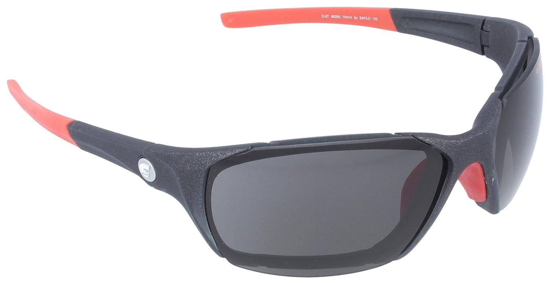 CARRERA - Gafas de sol Wrap para hombre, Black Transparent ...