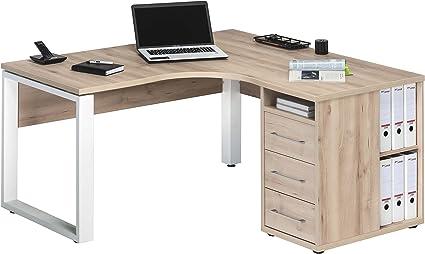 Esquina escritorio escritorio oficina Mesa oficina Muebles Armario ...