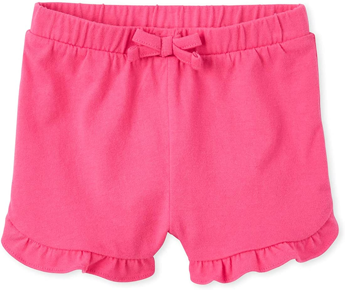 The Childrens Place Baby Girls Ruffle Shorts