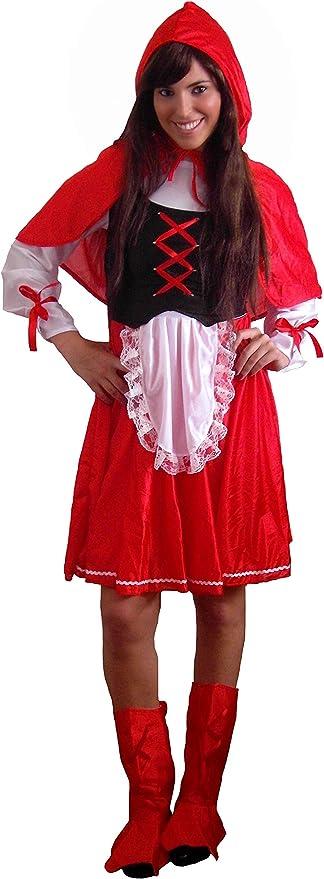 EL CARNAVAL Disfraz Caperucita Roja Mujer Adulto: Amazon.es: Hogar