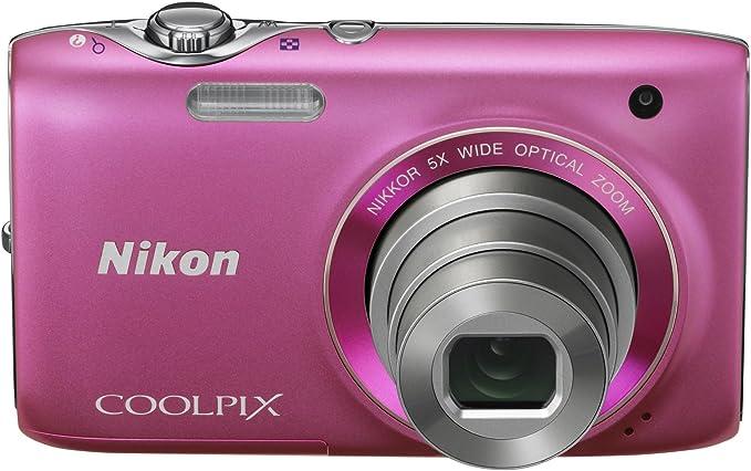 Nikon Coolpix S3100 Digitalkamera 2 7 Zoll Pink Kamera