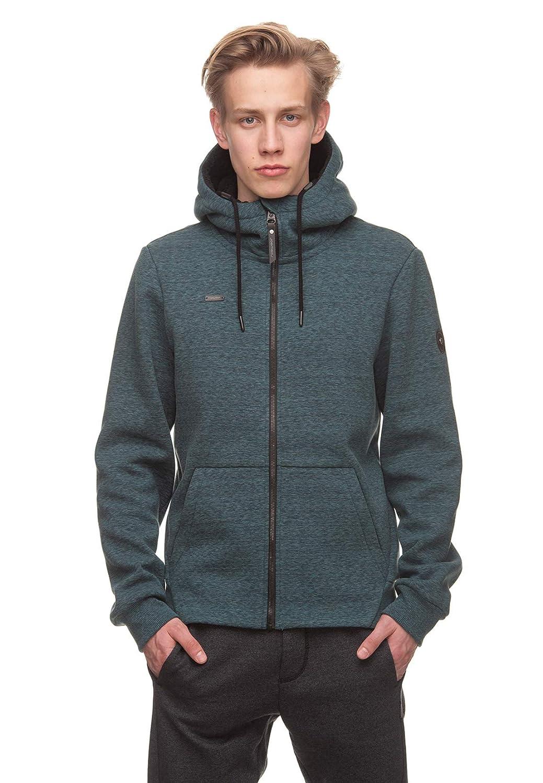 Ragwear Hooded Zipper Uomo Fabian 1822-70001 verde petrolio 5028