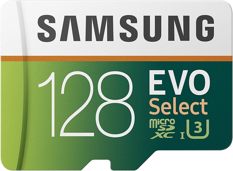 Samsung 128 GB 80 MB/s Evo seleccione Micro SDXC tarjeta de ...