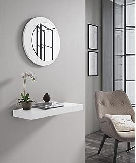 slaap recibidor consola lacado blanco el espejo se vende por separado medidas