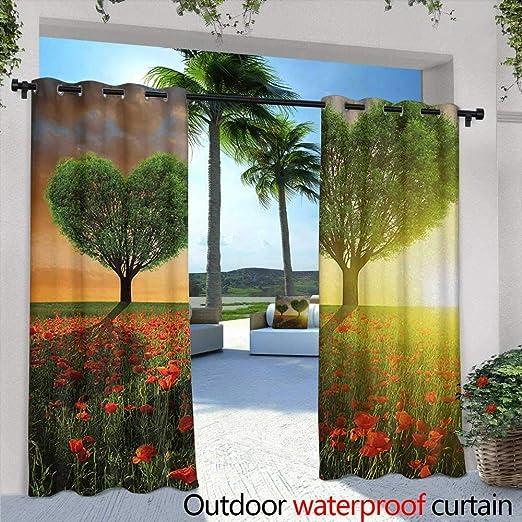 Tim1Beve Cortina para Puerta corredera con diseño de ratán y Tela de bambú, Resistente al Agua, para Patio, Color Azul Marino, Rojo, Blanco: Amazon.es: Jardín