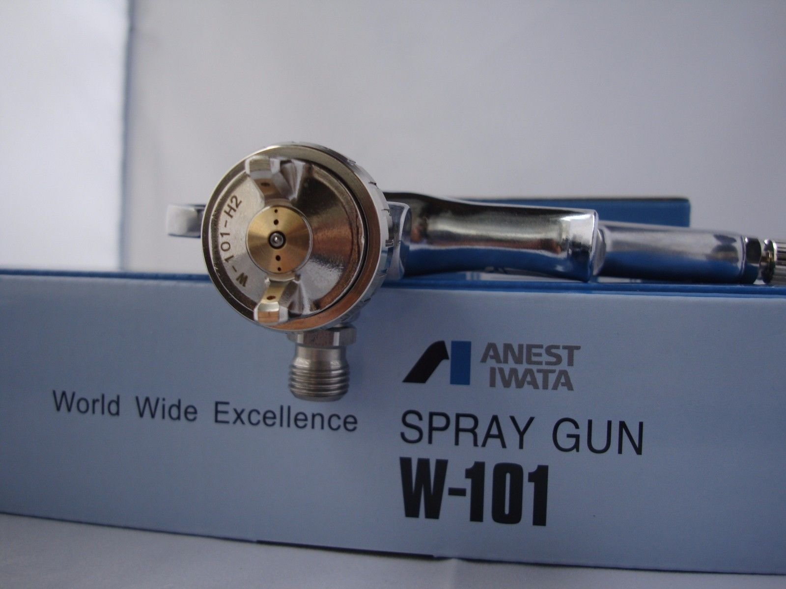 Iwata ANEST Compact Spray Guns W101-152G Gravity Feeds Nozzle φ1.5mm w/t 400ml Cup by Iwata (Image #4)