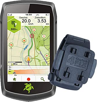 TEASI ONE4 - Navegador para Bicicleta y Senderismo (con Clip para ...