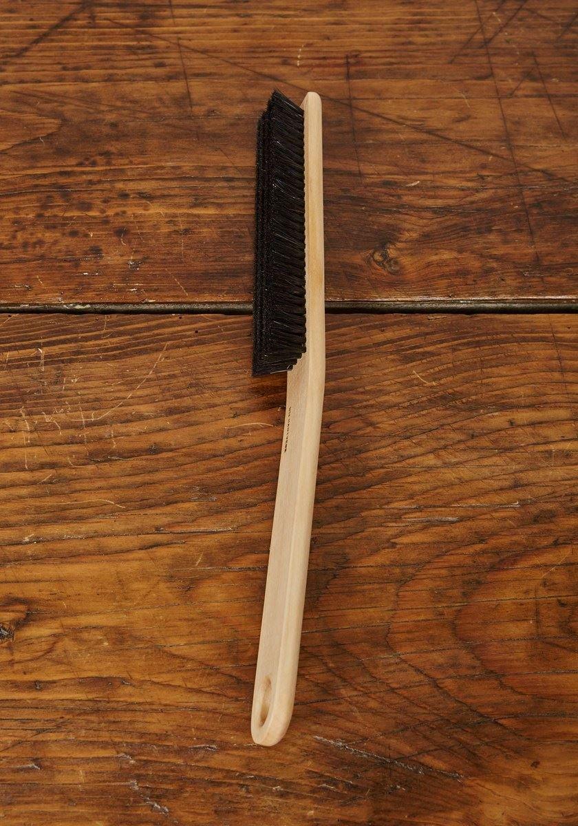 Tanis Brush MB250012 Metal Back Strip Brush with Light Duty 1//8 Galvanized Steel Backing 3//4 Trim Length 1 Overall Length 0.006 Bristle Diameter Black Nylon Bristles