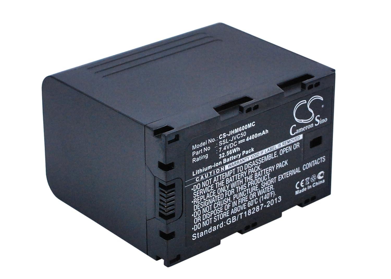 Cameron Sino Rechargeble Battery for JVC gy-hm650ec B01B5JPJH8