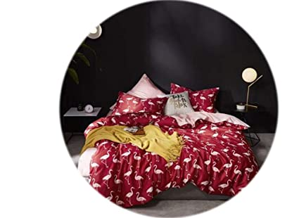 Funda Nordica King Size.Amazon Com Leaf Birds Print 3d Bedding Set Luxury Egyptian