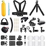 AKASO Outdoor Sports Action Camera Accessories Kit 14 in 1 for AKASO EK7000/ EK7000 Pro/Brave 4/ Brave 7 LE/ V50X/ V50 Pro/ V