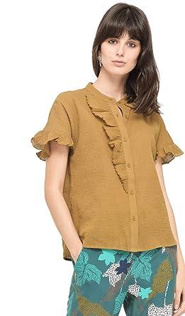 Chemise Volants Avec Accessoires Bensimon FemmeVêtements Et 7Ybfgyv6
