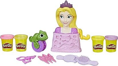 Play Doh Juego Rapunzel Princesa Salón de Belleza