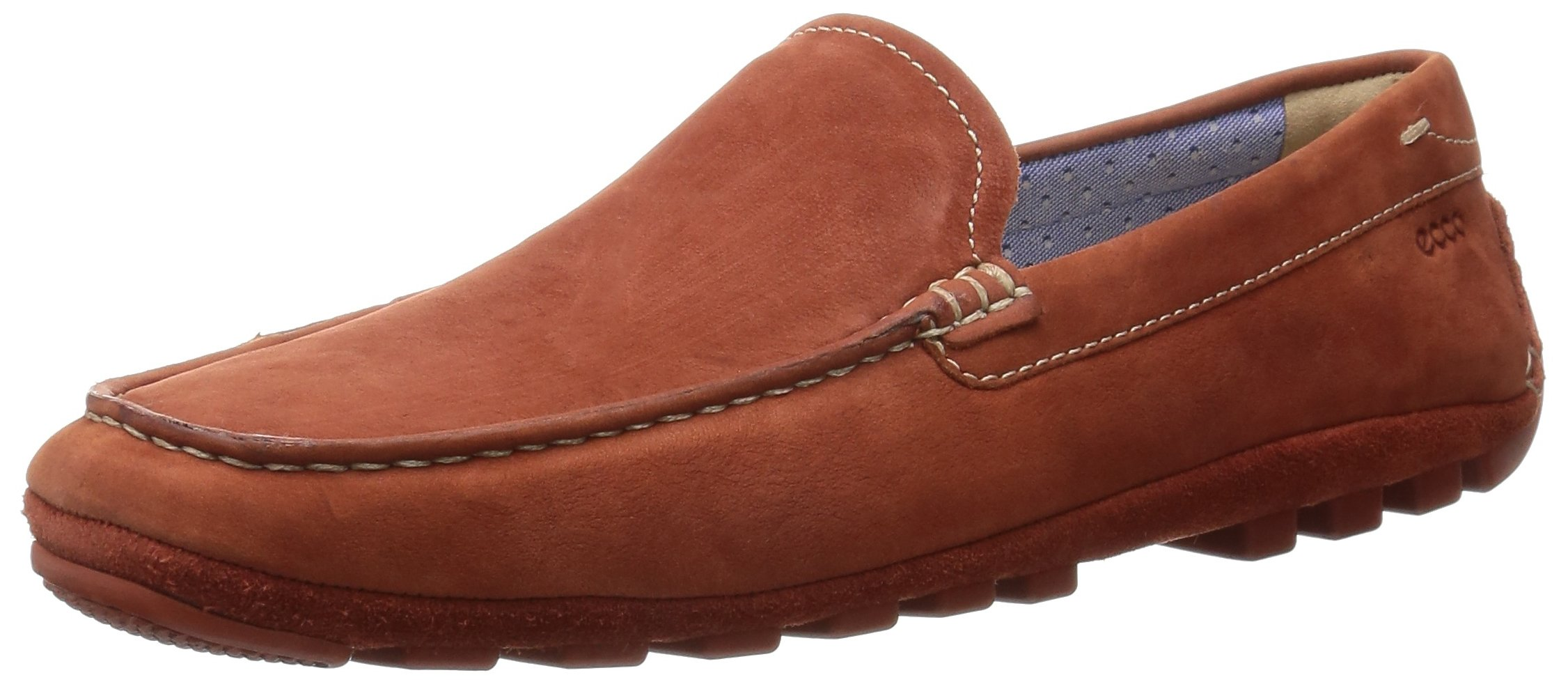 ECCO Men's Summer Moc Slip-On Loafer, Picante, 45 EU/11-11.5 M US