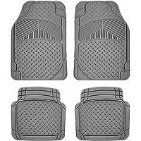 Nylon Carpet Black Coverking Custom Fit Front and Rear Floor Mats for Select Granada Models CFMBX1FD9266