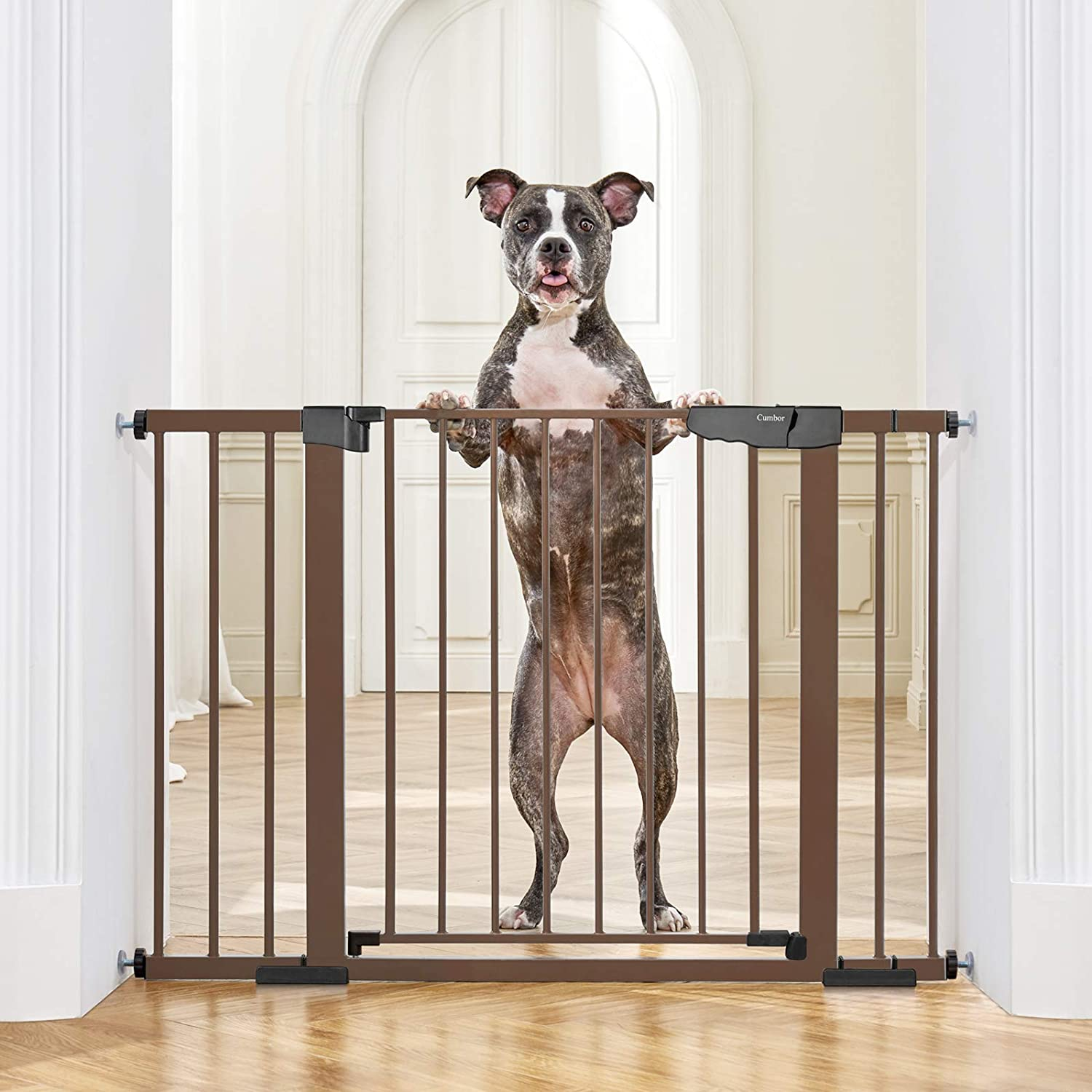 The Cumbor Baby Gate for Stairs and Doorways