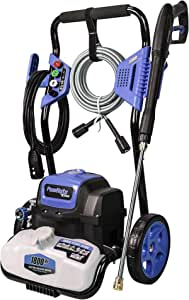 PowRyte Elite Power Washer 4500PSI 3.5GPM, Electric Pressure Washer with 4pcs 1/4'' Universal Spray Nozzles (Blue)