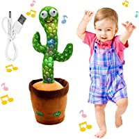"""Rechargeable Dancing Cactus Toy, BLUELAND Talking toys, Shaking, Recording, Singing Song, """"Repeat your speech"""" Funny…"""