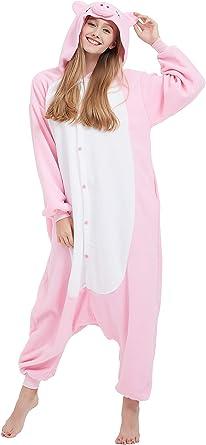 Fandecie Animal Costume Animal Traje Pijamas Pijamas Jumpsuit ...