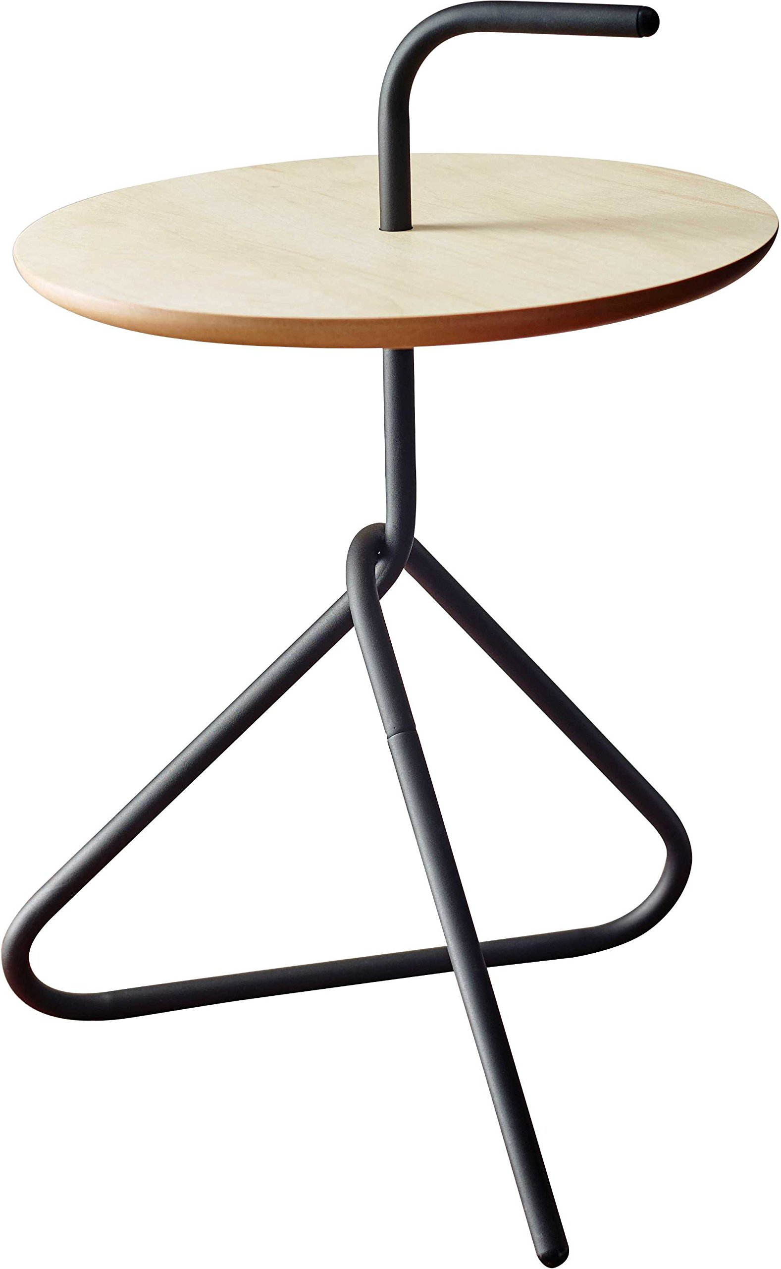 Adesso WK2870-01 Elroy Accent Table, Black