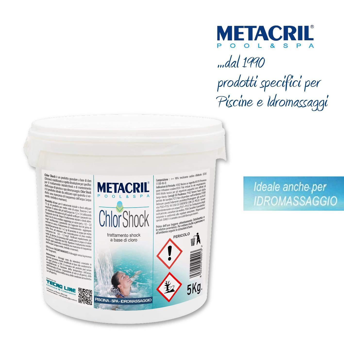 Metacril chlor Shock kg. - Cloro (dicloro) rápida disolución en ...