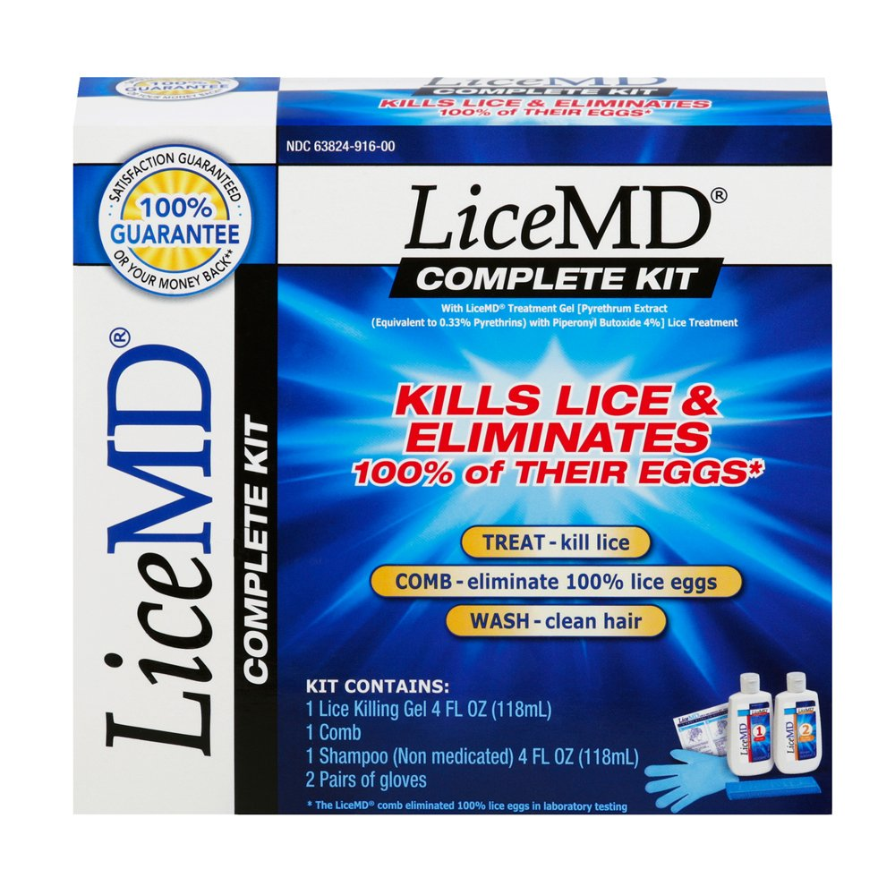 LiceMD Complete Kills Lice Kit, 5 piece by LiceMD