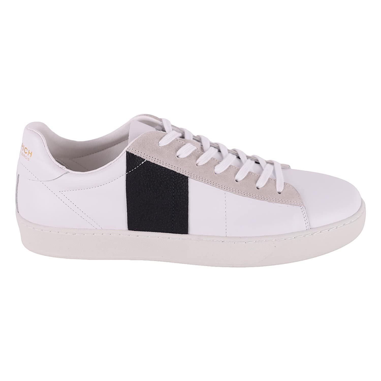 Woolrich メンズ WF2030WF28W412 ホワイト 革 運動靴 B07BZFMDRQ