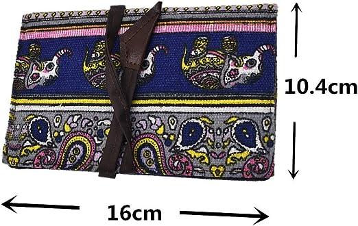 YNuth Bolsa para Tabaco de Liar de Tela 16x10,4cm para Unisexo Color y Diseño Aleatorio: Amazon.es: Hogar