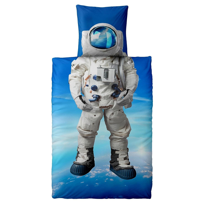 Snurk Bettwäsche Astronaut 135 X 200 Cm 100 Baumwolle Amazonde