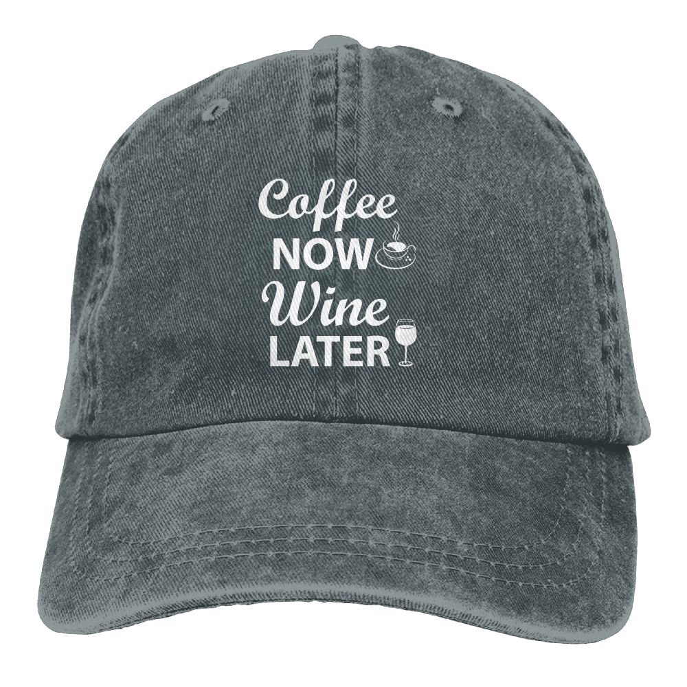 Coffee Now Wine Later Adult New Style COWBOY HAT